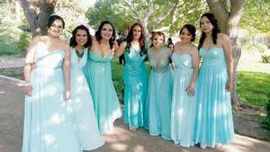 10042016 Damas: Alejandra Noriega, Leticia Peña, Paloma Mascorro, Ivonne Guerrero, Daniela Jiménez, Lizeth Muñoz e Ivet de Lara.