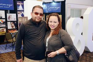 10042016 EN RECIENTE EVENTO.  Francisco y Lizeth.
