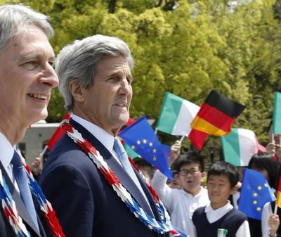 Kerry —el funcionario de más alto rango del gobierno estadounidense en visitar Hiroshima—  se suma a las visitas a ciudades 'sensibles'.