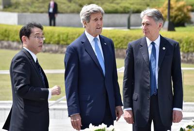 John Kerry se convirtió ayer lunes en el primer secretario de Estado norteamericano en visitar el lugar donde cayó la primera bomba atómica.