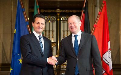 Peña Nieto culminó el día de hoy su visita oficial a la ciudad bávara.