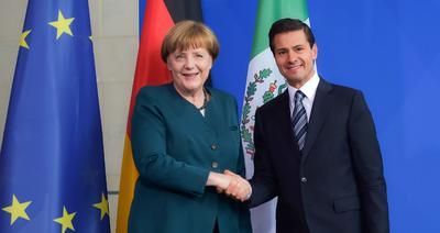 Durante su Visita de Estado, Peña Nieto se reunió con la Canciller Ángela Merkel.