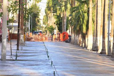 El Paseo Morelos atraviesa 17 cuadras del Centro Histórico de la ciudad.