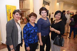 15042016 Ani, Rita, Gaby y Ana.