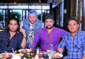 17042016 Arturo, Ricardo, Carlos y Miguel.