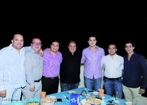 17042016 José, Jesús, Jorge, Daniel, Rafa y Abraham.