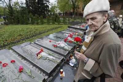 Familiares recordaron a las víctimas del accidente nuclear.