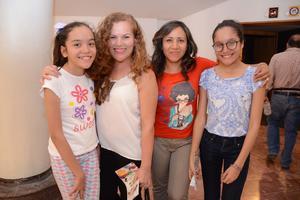 22042016 Michelle, Coco, Magda y Sabrina.