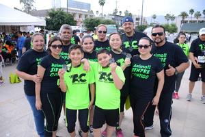 22042016 RUNNERS.  Familia Meléndez.