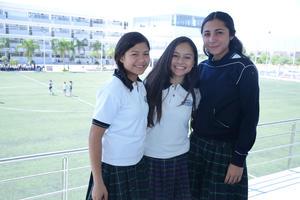 25042016 Arantxa, Valeria e Irma.
