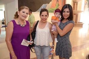 29042016 RECIENTE EVENTO.  Rosa Elena, Paty, Berenice y Romina.