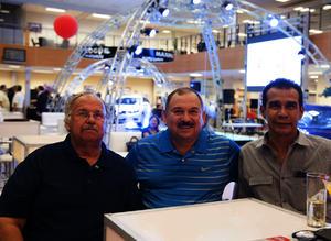 Antonio, Avelino y Luis Ángel