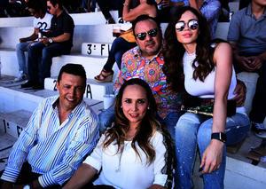 Ricardo, Vicky, Marco y Ana Luisa