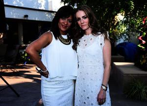 Ana Cecilia Monarrez y Brenda Delgado