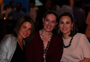Gaby, Claudia y Rosario