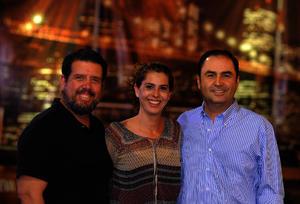 Ramiro, Olga y Juan Carlos