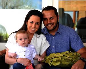 Ricky, Andrea y Ricardo