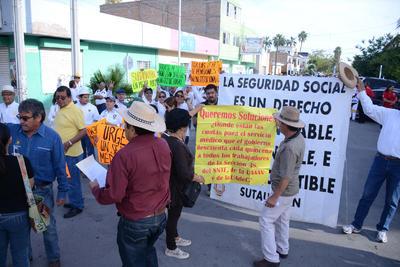 También denunciaron que la Ley de Pensiones de Coahuila es inconstitucional.