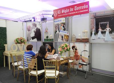 El evento que reúne a más de 60 expositores y se ha convertido en la expo nupcial más grande de la región.