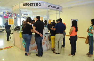 En punto de las 13:00 horas, se dio por inaugurada la Expo Boda Sí, Acepto!, de El Siglo de Torreón, en el Expo Center Laguna.