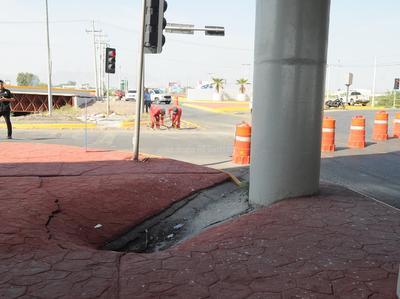 Obras Públicas municipales consideró prematuro estimar cuánto se requerirá para reparar los daños.