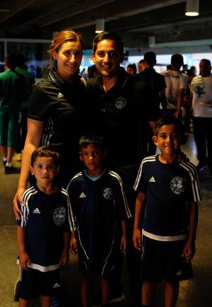 Fernando, Carlos, Santiago, Sebastián y Viridiana