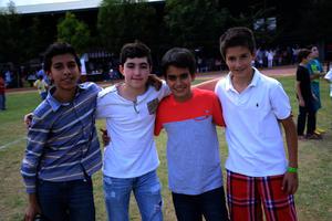 Alejandro, Andrés, Memo y Alejandro