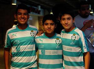 Héctor, Eduardo y Marvin
