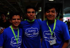 Alexis, José y Gerardo