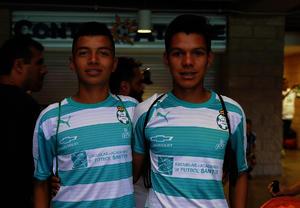 David y Gustavo