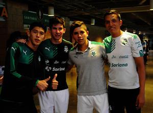 Gerardo, Abraham, Kevin y Bryan