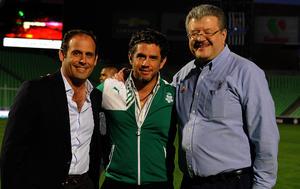 Luis Miguel, Alejandro Irarragori y Fernando Alanís