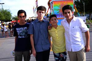 Ricardo, Schroeder, Alfonso y Gustavo