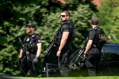 Un fuerte operativo de seguridad se montó ante el reporte.