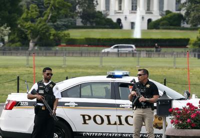 Una situación de emergencia se vivió en la Casa Blanca, en la capital de Estados Unidos.