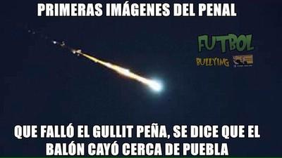 Los memes sobre el meteorito no se hicieron esperar.