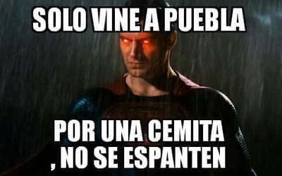 Tuiteros aseguran que se trató de Superman.