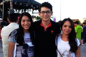 Salma, Amauri e Ingrid