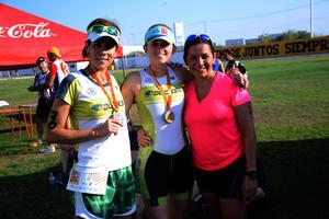 Beatriz, Estefanía y Karla
