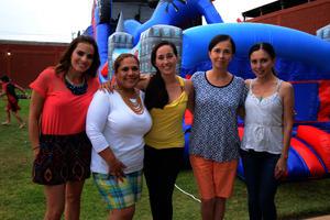 Paty, Paty, Erika, Mayte y Ana
