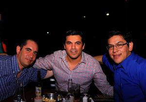 Alejandro, Andrés y Abraham