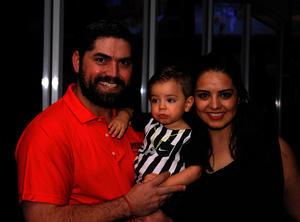 Franco, Diego y Mariana