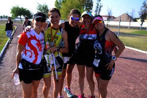 Gaby, Eli, Lorena, Mayte y Marce