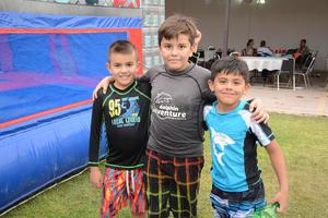 Ricky, Arturo y José Luis