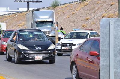 El alcalde ordenó la instalación de una patrulla de Vialidad con sirena abierta en las noches, para orientar a los automovilistas en tanto se acostumbran al recorrido.