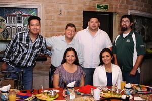 20052016 Marcela Ramos, Jaqueline Flores, Tonatiuh Barrón, David Muñoz, Luis Galindo y Jorge Prado.
