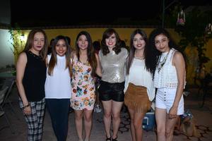06052016 Mirna, Diana, Viridiana, Susana, Karina y Mirna.