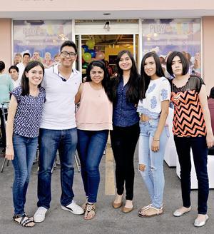 29052016 Blanca, Christian, Ana, Jessica, Fernanda y Berenice.