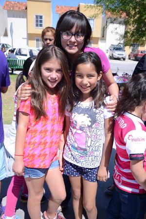 07052016 Cristina, Divanet y María Fernanda.