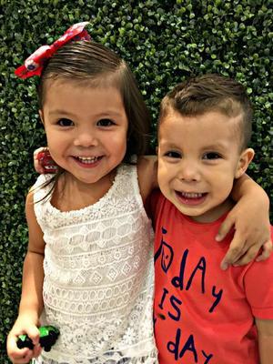 22052016 MUY LINDOS.  Ana Victoria y Asdir Lugo.